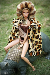 Fashion Royalty - Safari Goddess (chickenjoyboi) Tags: doll fashionroyalty integritytoys nataliafatale foundationcollection privategoddess