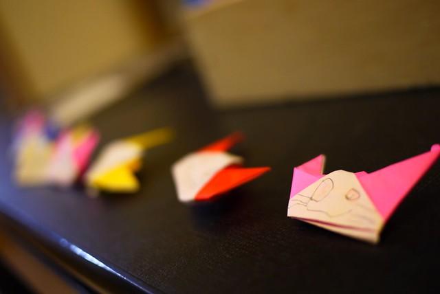 Origami Kittens