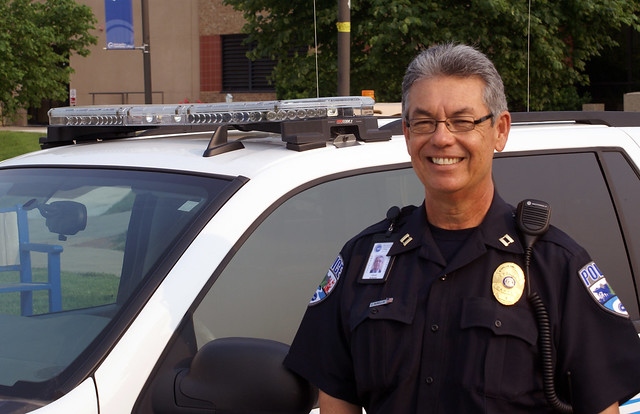 Chuck McMullin, MCC PD Police Capt.