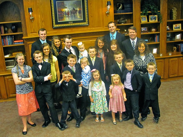 DUGGAR FAMILY Portrait