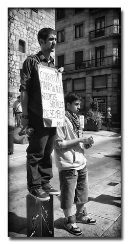 No quiero... ....ni desempleo by Andrés Ñíguez