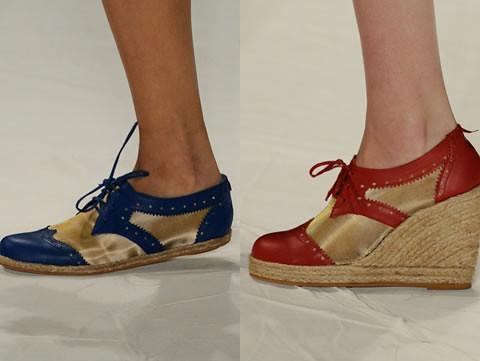 sapatos oxford femininos 2011