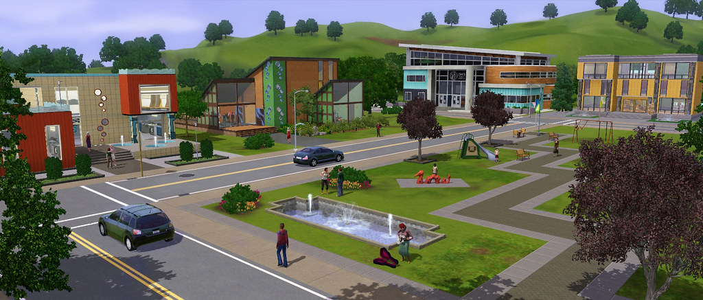Sims 3 Town Life Stuff Pack City