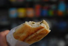 Spinach and Cheese Burek - Turkish food stall, Queen Victoria Market AUD2.50