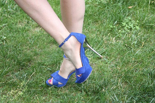 shoes bleu