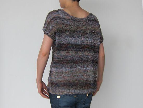 gradation pullover