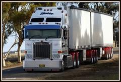 Betts K108 (quarterdeck888) Tags: semi lorry trucks betts kenworth bdouble k108 jerilderietrucks