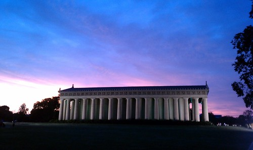 The Parthenon at Vanderbilt, beautiful day or night