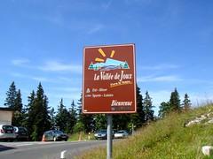 Le mont Tendre ( 1 678,8 m) plus haut sommet du Jura suisse, dans le canton de Vaud,