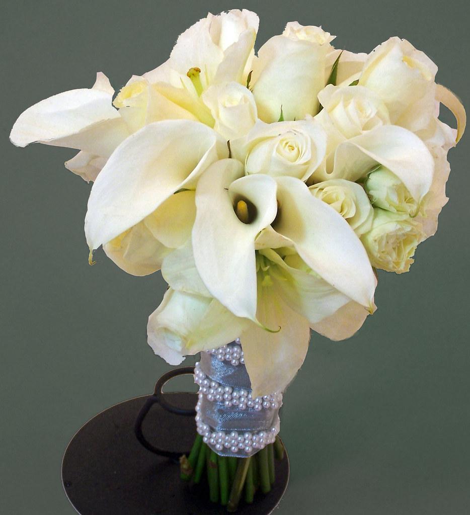 Sparks Florist Venice Bridal Bouquet
