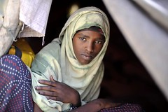 Galkayo:  Vulnerable in a volatile land (UNHCR) Tags: africa portrait youth faces hijab teens safety help aid violence shelter protection assistance photoset unhcr somalia settlement insecurity hornofafrica displacement idps idp orphaned unaccompaniedminors displacedpeople galkayo unrefugeeagency eastandhornofafrica forciblydisplacedpersons