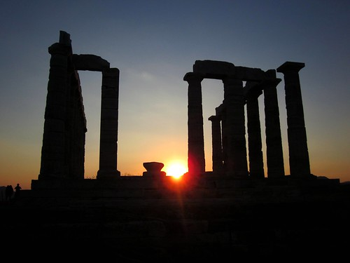 Temple of Poseidon - Sunset