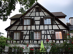 House at the Upper town of Bregenz (baruchova) Tags: house timber bregenz framing uppertown