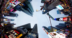 Times Square (dzpixel) Tags: street new york city nyc summer sky urban usa ny newyork canada apple architecture america canon buildings town us big avenue 5th obama dz alger anice 2011