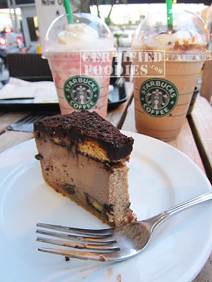 Starbucks Tiramisu Cheesecake - CertifiedFoodies.com