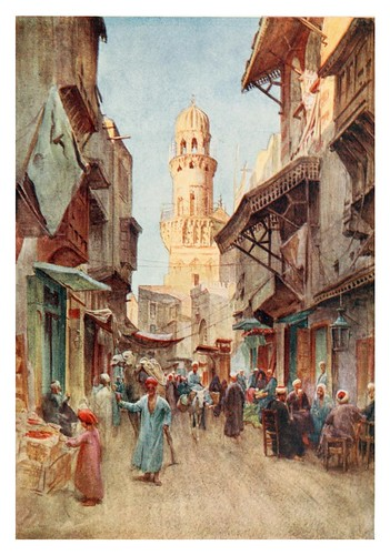 018-El-Gamanese en el Cairo-Below the cataracts (1907)- Walter Tyndale