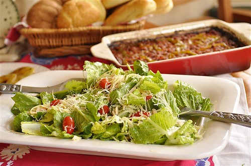 House Salad with Lemon Dressing