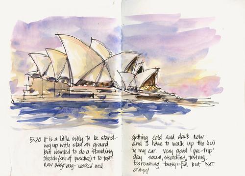 110702_05 PreTrip Sketching Day - Opera House