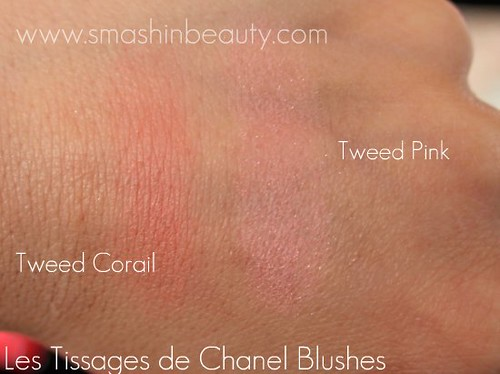 Chanel Joues Contraste Blush Swatches