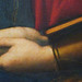 Raphael, La belle jardinière, detail of hands