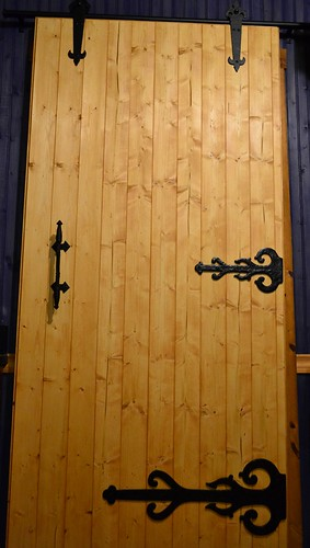 Barn Door for the Kitchen by pjpink