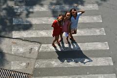 Buddies (XenteRR) Tags: lines canon children crossing child 7d manila