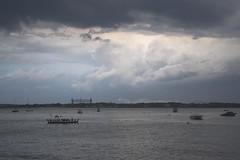 Rolling Storm Over Buzzard's Bay (biesterd11) Tags: buzzard bay ma massachusetts capecod cape cod falmouth water ships bridge clouds storm