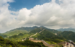 20160918_China trip_N818791-Pano.jpg (potto1982) Tags: outdoor great wall outside landscape landschaft ereignisse urlaub chinesischemauer holiday trip greatwallofchina 2016 cloudy china