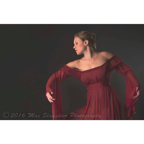 This is a crop of a dance pic of Samantha. She sure is graceful and gorgeous!