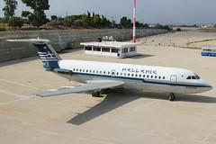SX-BAR | BAe (BAC) 1-11 215AU | ex-Hellenic Air (cv880m) Tags: athens greece lgat ath hellinikon elliniko ellinikon sxbar bac bae britishaircraftcorp britishaerospace oneeleven 111 111215au hellenic hellenicair twinjet ttail