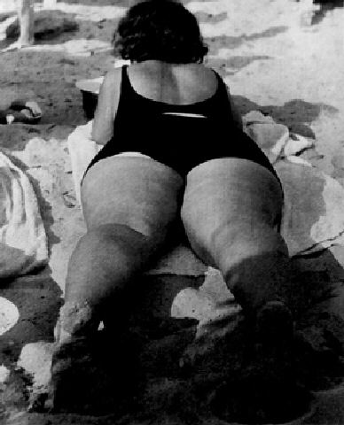 Lisette Model, Bather, Promenade des Anglais, Nice, 1934