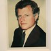 """BIG SHOTS ANDY WARHOL POLAROIDS OF CELEBRITIES"" at Danziger Projects, NYC - Ted Kennedy"