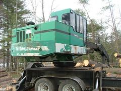 DSCF4698 (M.Bouzakine) Tags: forestry logging valmet skidder timberpro knuckleboomloader 445exl deere648g