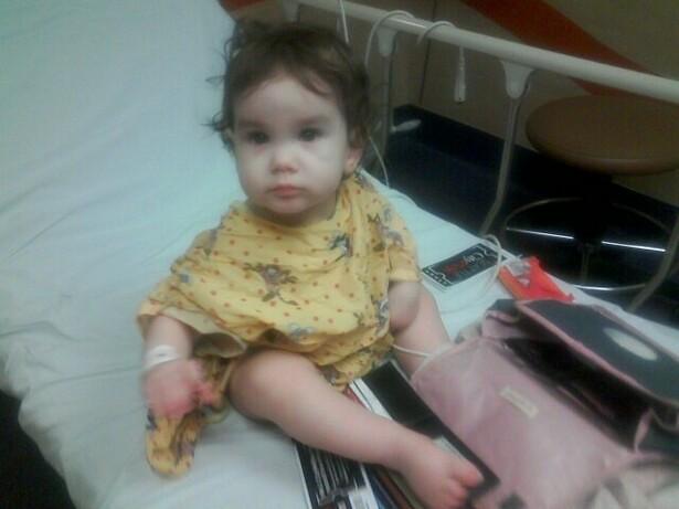 Britt in the ER