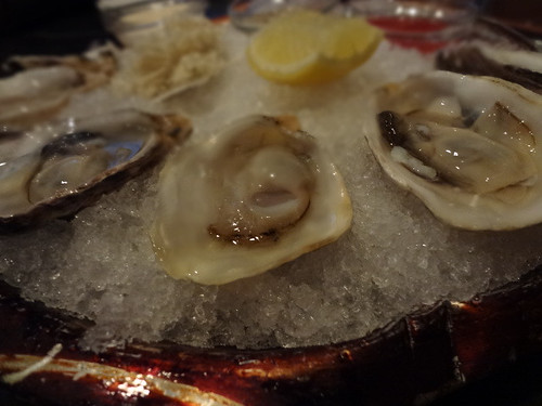 Oysters at Son of a Gun restaurant, L.A.