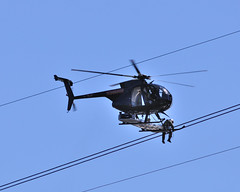 working high in the sky (pcgphotography) Tags: new york sky lines river high nikon power hudson helicopters