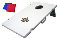 New Orleans Saints TailGate Toss 2.0 Plastic Cornhole Boards