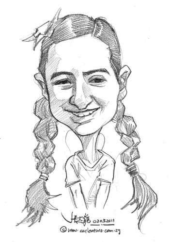 caricature in pencil - 7
