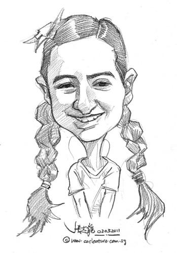 caricature in pencil - 7