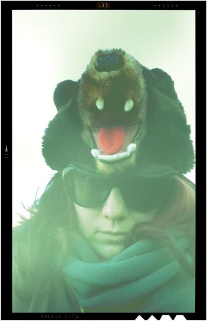 Badass bear-woman will defeat the creepy piñata