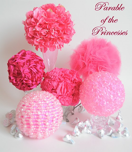 Pink Sphere Centerpiece Tutorial