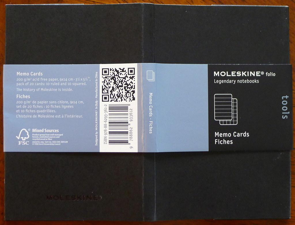 Moleskine Memo Card