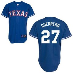 Texas Rangers #27 Vladimir Guerrero Blue Jersey (Terasa2008) Tags: jersey texasrangers 球员 cheapjerseyswholesale cheapmlbjerseys mlbjerseysfromchina mlbjerseysforsale cheaptexasrangersjerseys