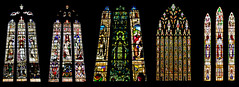 St Marys Stained Glass Collection finall one (Martin David Photography) Tags: david church beautiful beauty photoshop nikon shropshire religion shrewsbury adobe elements multiexposure stained glass st nikon photography martin church d7000 windows marys pse9 d7000