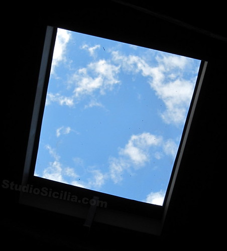Studio Sicilia: View through Skylight