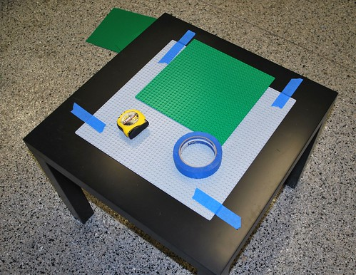 Lego Tables Tutorial