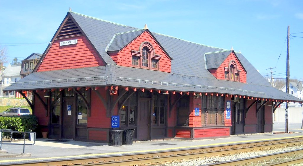 Brunswick Railroad Station, 100 South Maple Street Brunswick, MD 21716, built 1907, style: Queen Anne