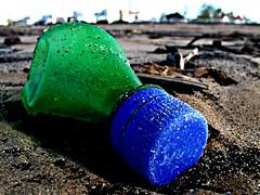 Morocco 94 (SG Dorney) Tags: africa blue green beach bottle sand northafrica morocco maroc ontheground essaouira fotocompetitionbronze canong10 herowinner