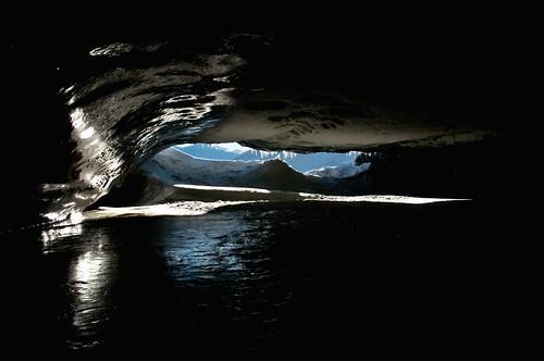 Castner Glacier Cave