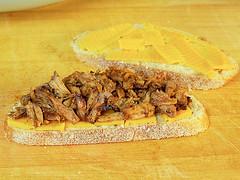 BBQ Pork Panini